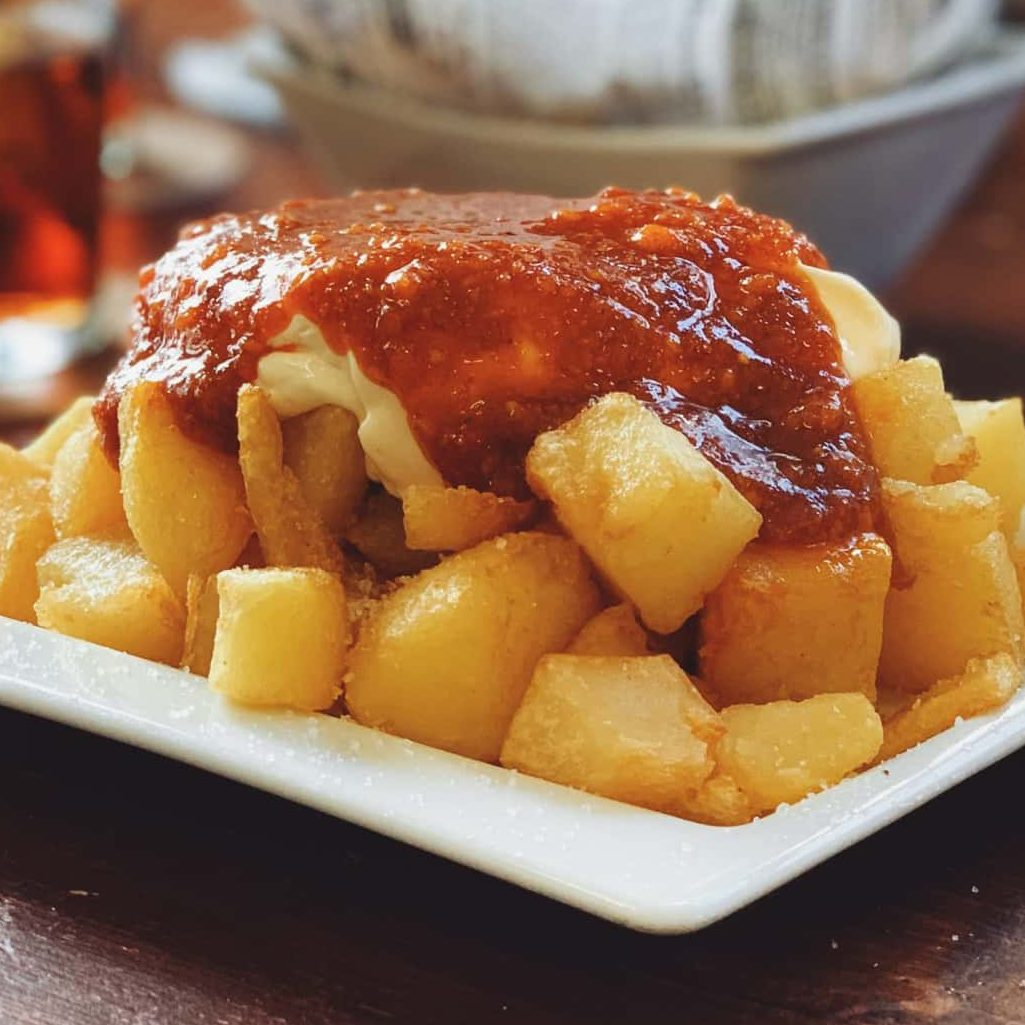 patate al forno con stufato di carne di