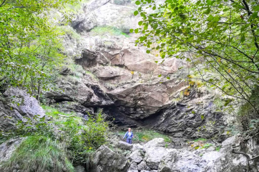 Uno dei salti sul Sentiero delle Cascate