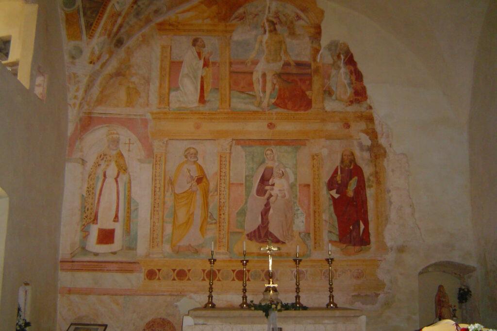 Altare della chiesa di San Bartolomeo
