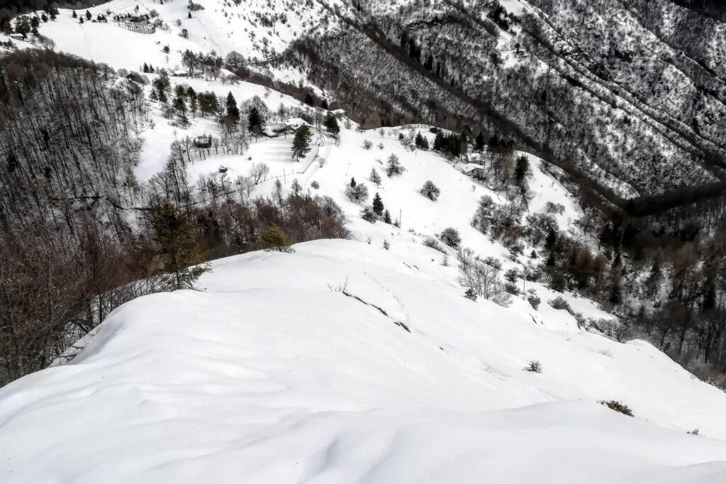 Dorsale est al Mt. Manos