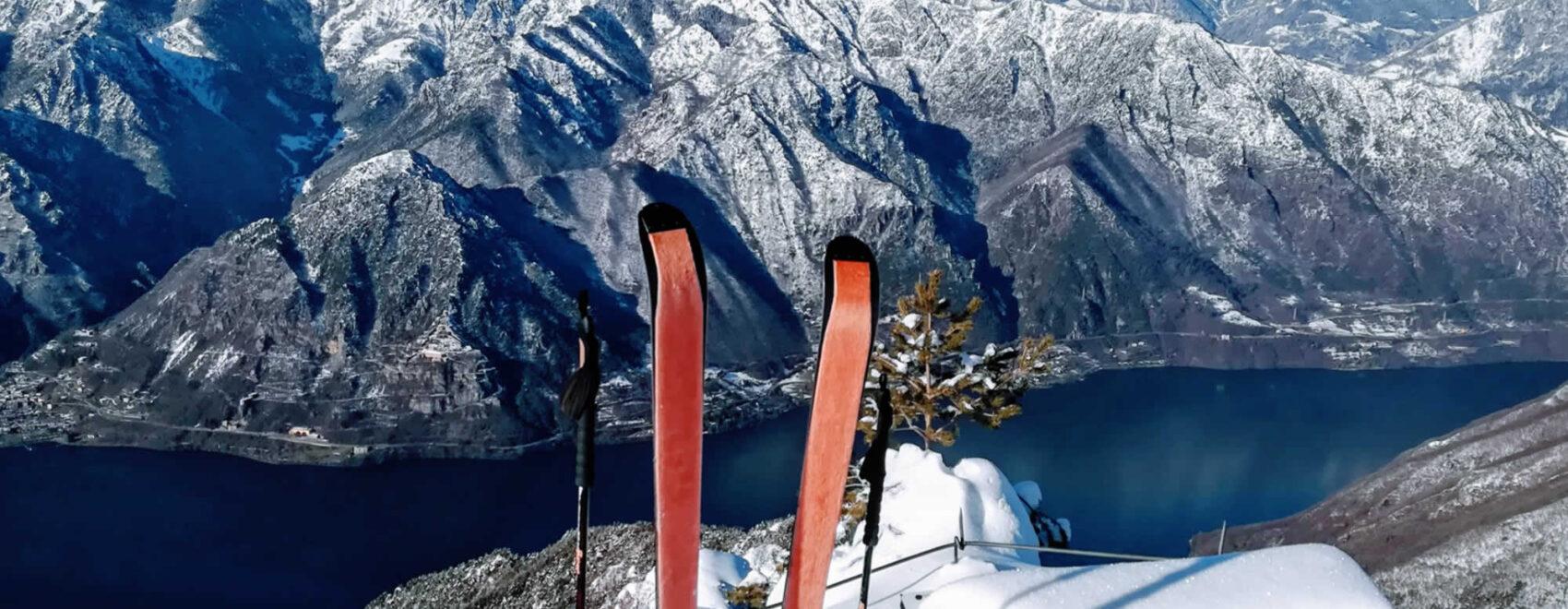 Punto panoramico sul lago d'Idro