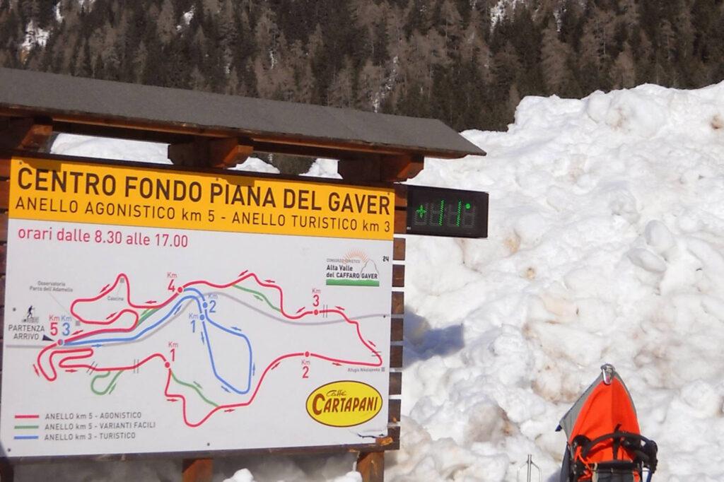 Centro sci di fondo Gaver