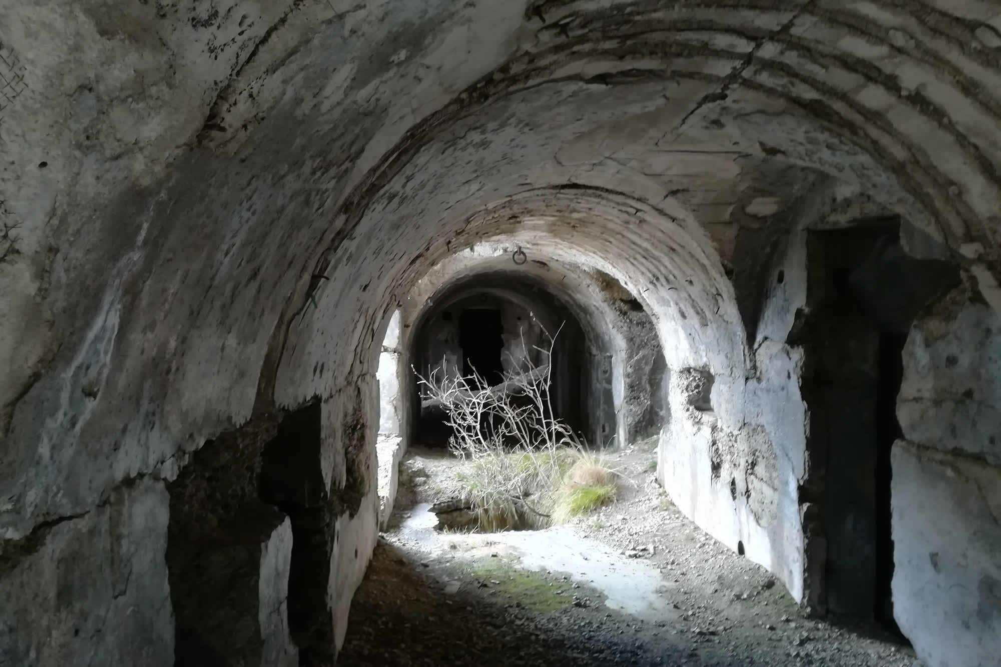 Gallerie diroccate del forte