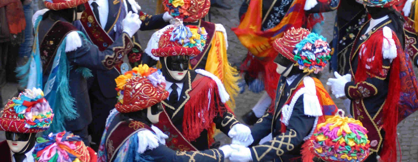 La caratteristica maschera di Bagolino:i Mascher