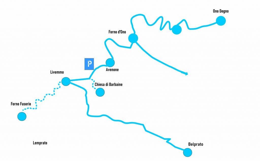 Itinerario borghi e chiese delle Pertiche