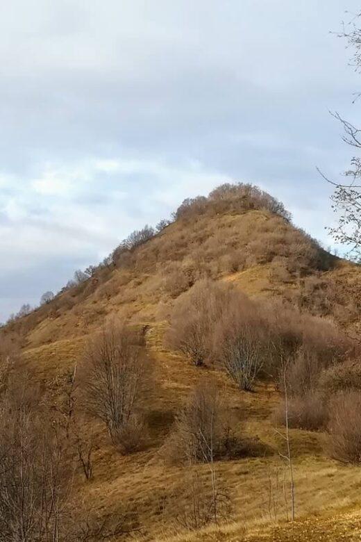 La Rocca di Bernacco vista da Est