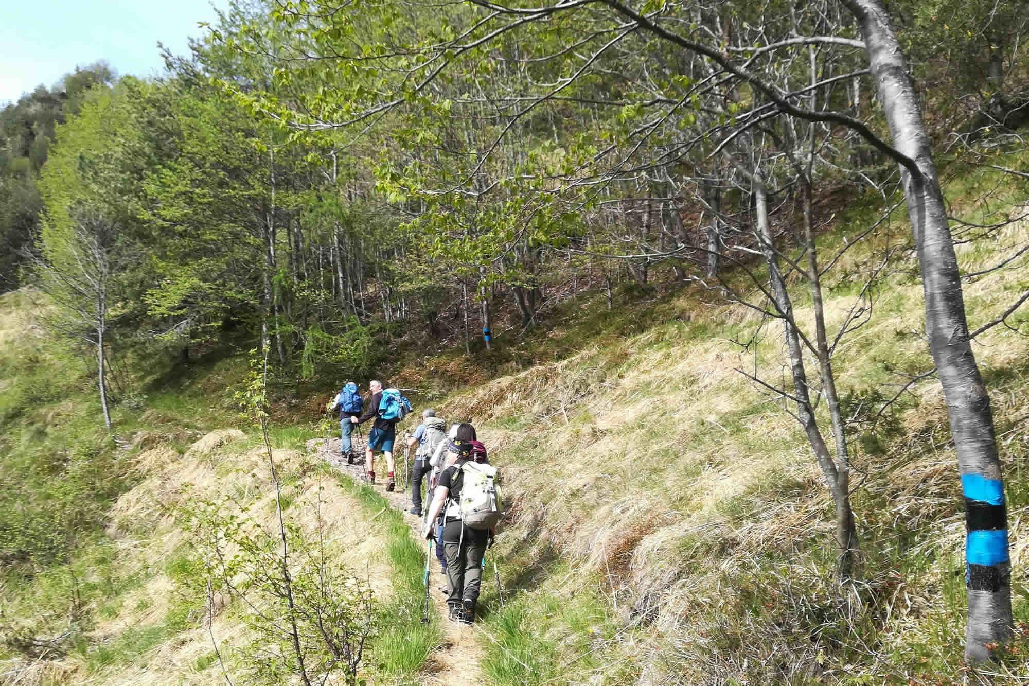 Verso il Mt. Breda