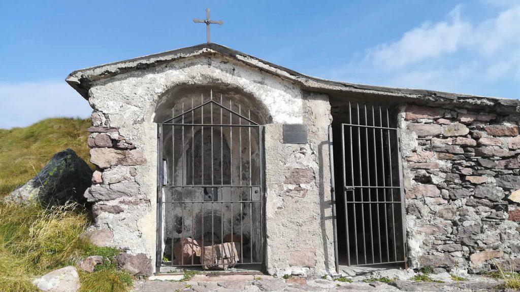Cappella posta a Grapa di Vaia